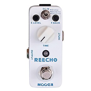 mooer reecho digital delay guitar effects pedal guitar center. Black Bedroom Furniture Sets. Home Design Ideas