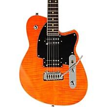 Reeves Gabrels Signature Electric Guitar Satin Orange Flame maple