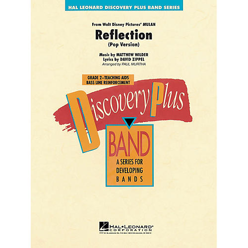 Hal Leonard Reflection (From Mulan) - Discovery Plus Concert Band Series Level 2 arranged by Paul Murtha