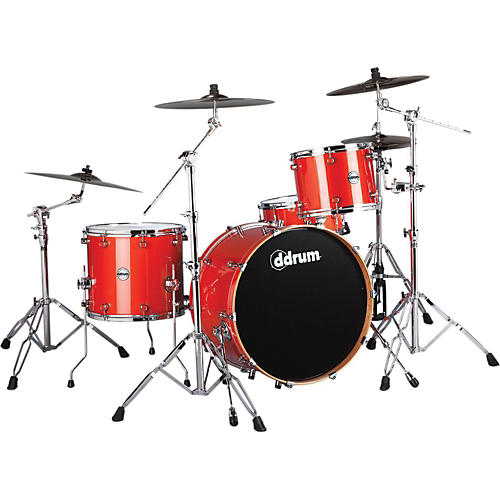 Ddrum Reflex Rock 24 4-Piece Shell Pack