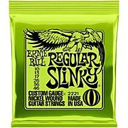 Regular Slinky 2221 (10-46) Nickel Wound Electric Guitar Strings
