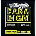 Ernie Ball Regular Slinky Paradigm Electric Guitar Strings 3-Pack thumbnail