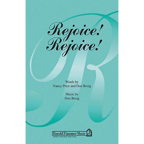 Shawnee Press Rejoice! Rejoice! SATB composed by Nancy Price