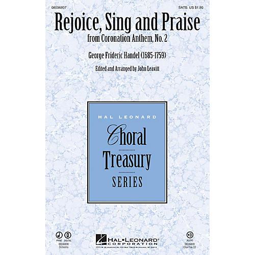 Hal Leonard Rejoice, Sing and Praise (from Coronation Anthem, No. 2) Chamber Orchestra Arranged by John Leavitt