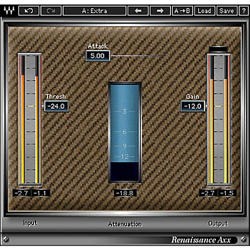 Waves Renaissance Axx Native/TDM/SG Software Download