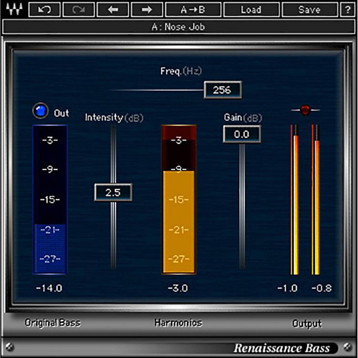 Waves Renaissance Bass Native/TDM/SG Software Download