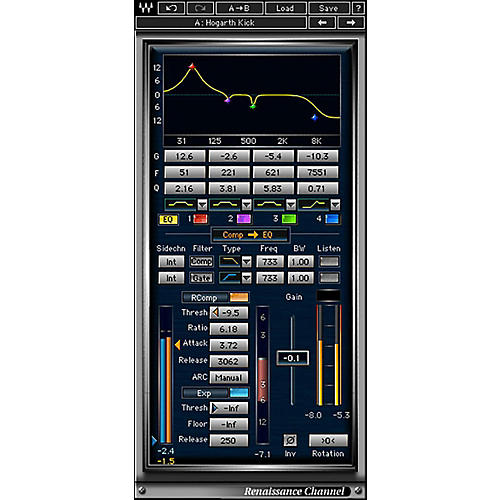 Waves Renaissance Channel Native/TDM/SG Software Download