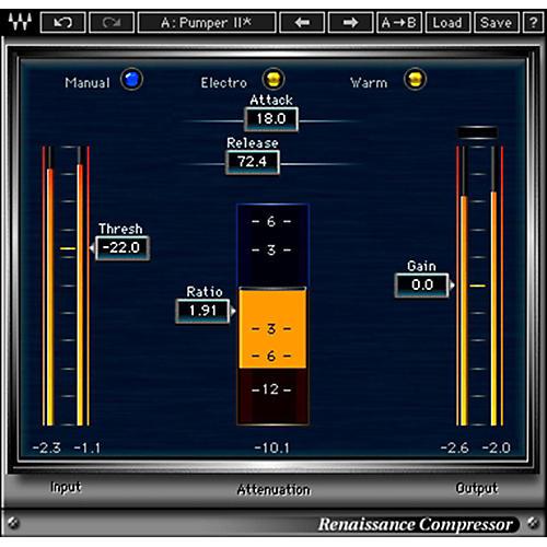 Waves Renaissance Compressor Native Software Plug-In Software Download