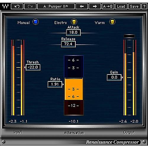 Waves Renaissance Compressor Native/TDM/SG Software Download