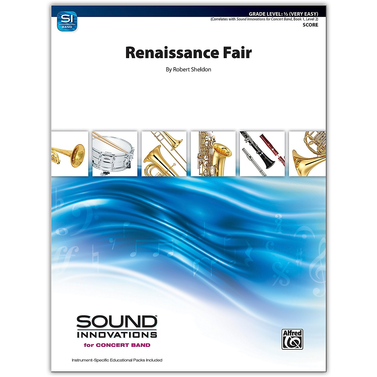 Alfred Renaissance Fair Conductor Score 0.5 (Very Easy)