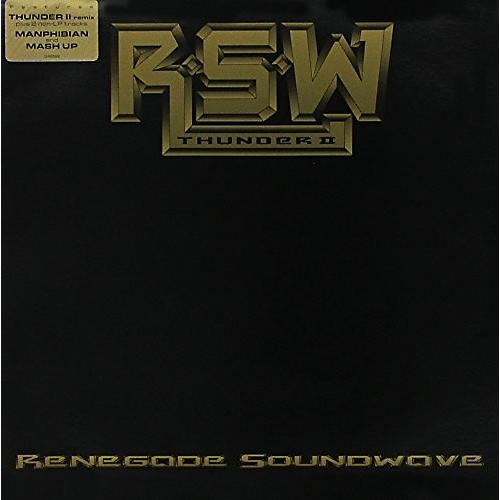 Alliance Renegade Soundwave - Thunder II