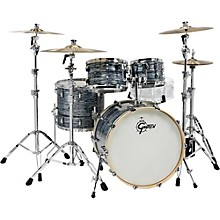 Renown 4-Piece Shell Pack Silver Oyster Pearl