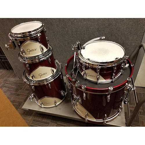 c14d8232a1ba Used Gretsch Drums Renown 57 Drum Kit Wine Red