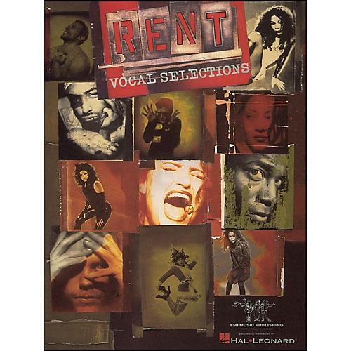 Hal Leonard Rent arranged for piano, vocal, and guitar (P/V/G)