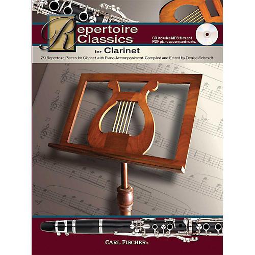 Carl Fischer Repertoire Classics for Clarinet (Book/ Data MP3 CD)