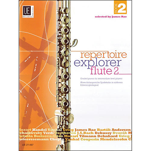Carl Fischer Repertoire Explorer - Flute Vol.2 Book