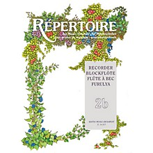 Editio Musica Budapest Repertoire for the Recorder - Volume 2B EMB Series by Various