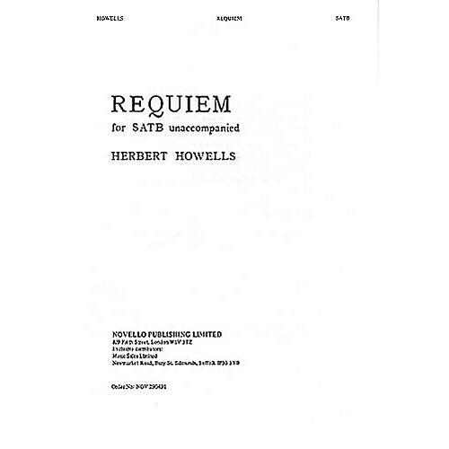 Novello Requiem SATB a cappella Composed by Herbert Howells