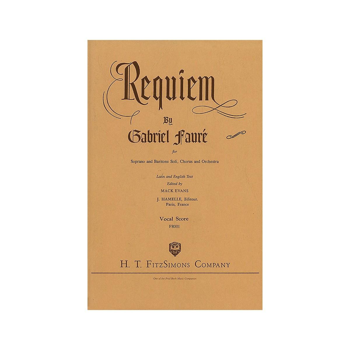 Fred Bock Music Requiem SATB composed by Gabriel Fauré