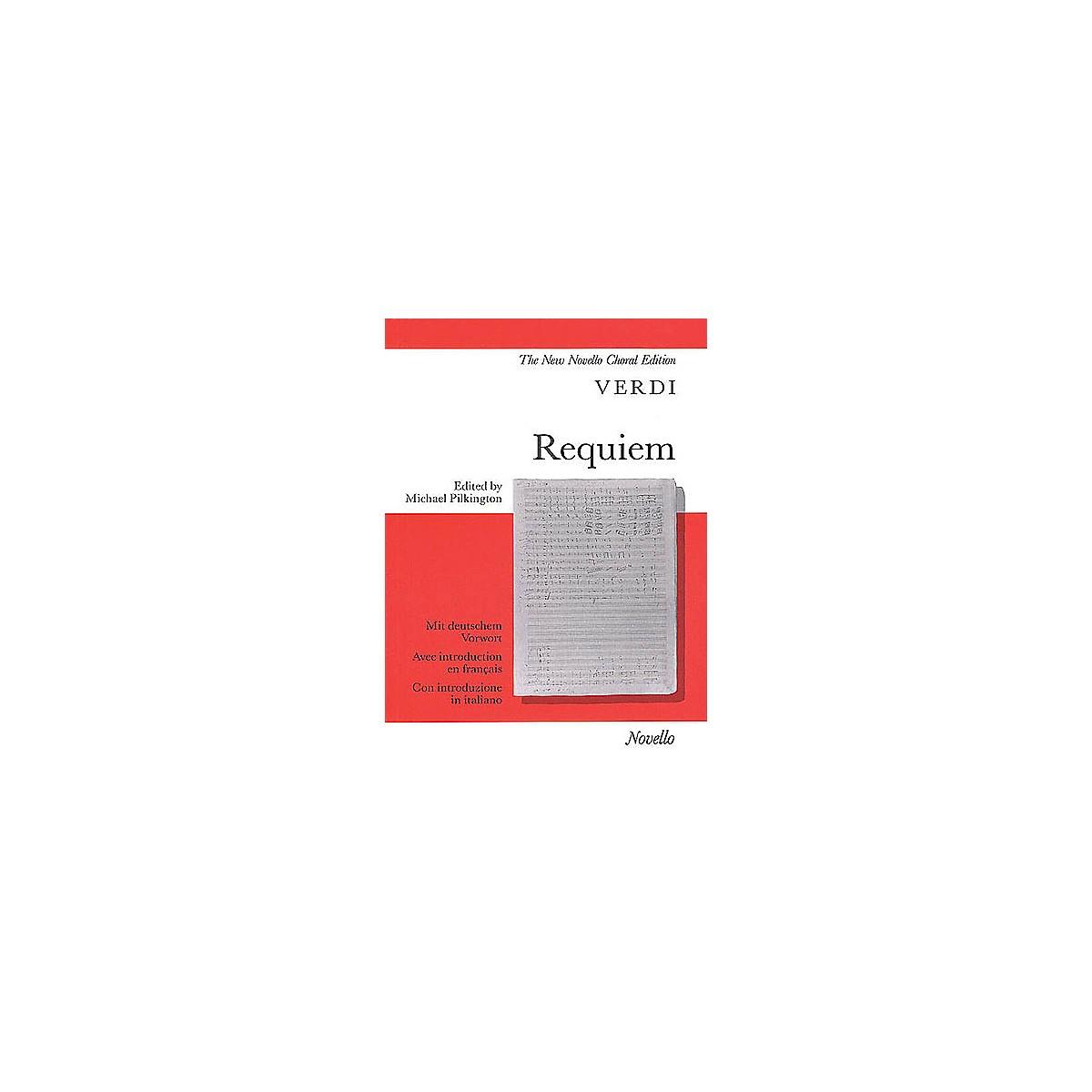 Novello Requiem (Vocal Score) SATB Composed by Giuseppe Verdi