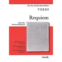 Novello Requiem (Vocal Score) SATB Composed by Giuseppe Verdi