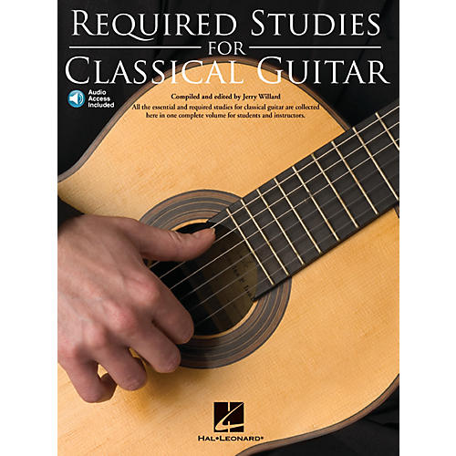 Music Sales Required Studies for Classical Guitar Music Sales America Series Softcover with CD