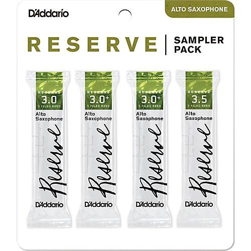 D'Addario Woodwinds Reserve Reed Sampler Packs, Alto Saxophone