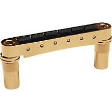 Graph Tech ResoMax NV2 Auto Lock Bridge With String Saver Saddles 6MM Posts Level 1 Gold