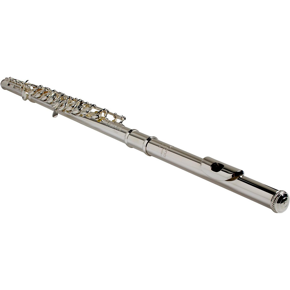 BURKART Resona 300 Flute with Sterling Silver Body and Headjoint with 14K Gold Riser