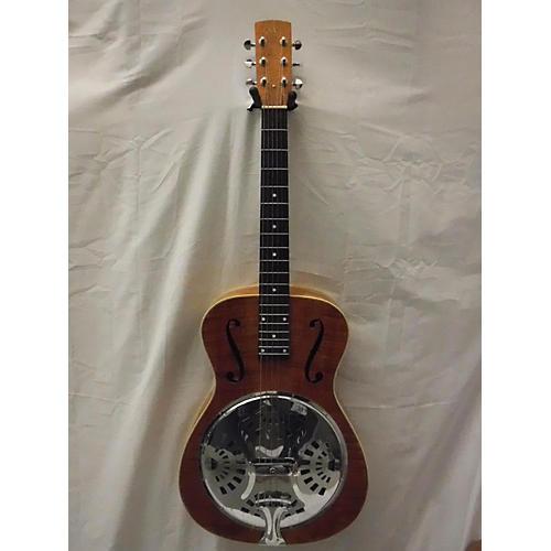 SX Resonator Acoustic Electric Guitar