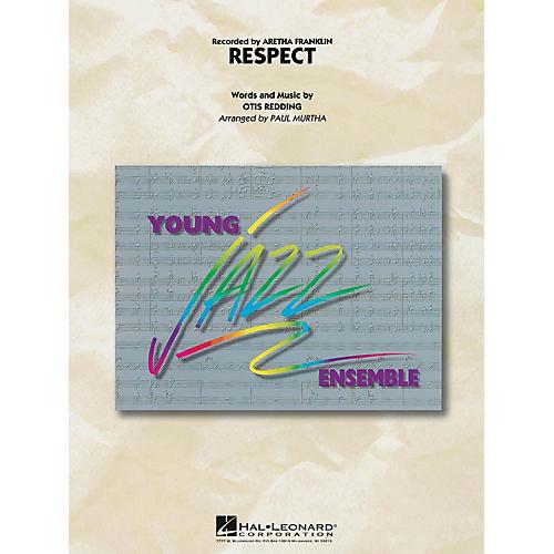 Hal Leonard Respect Jazz Band Level 3 by Aretha Franklin Arranged by Paul Murtha