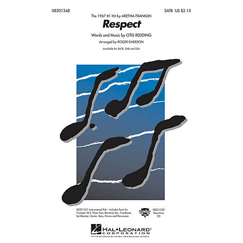 Hal Leonard Respect ShowTrax CD by Aretha Franklin Arranged by R Emerson