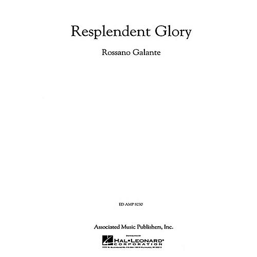 G. Schirmer Resplendent Glory Concert Band Composed by Rossano Galante