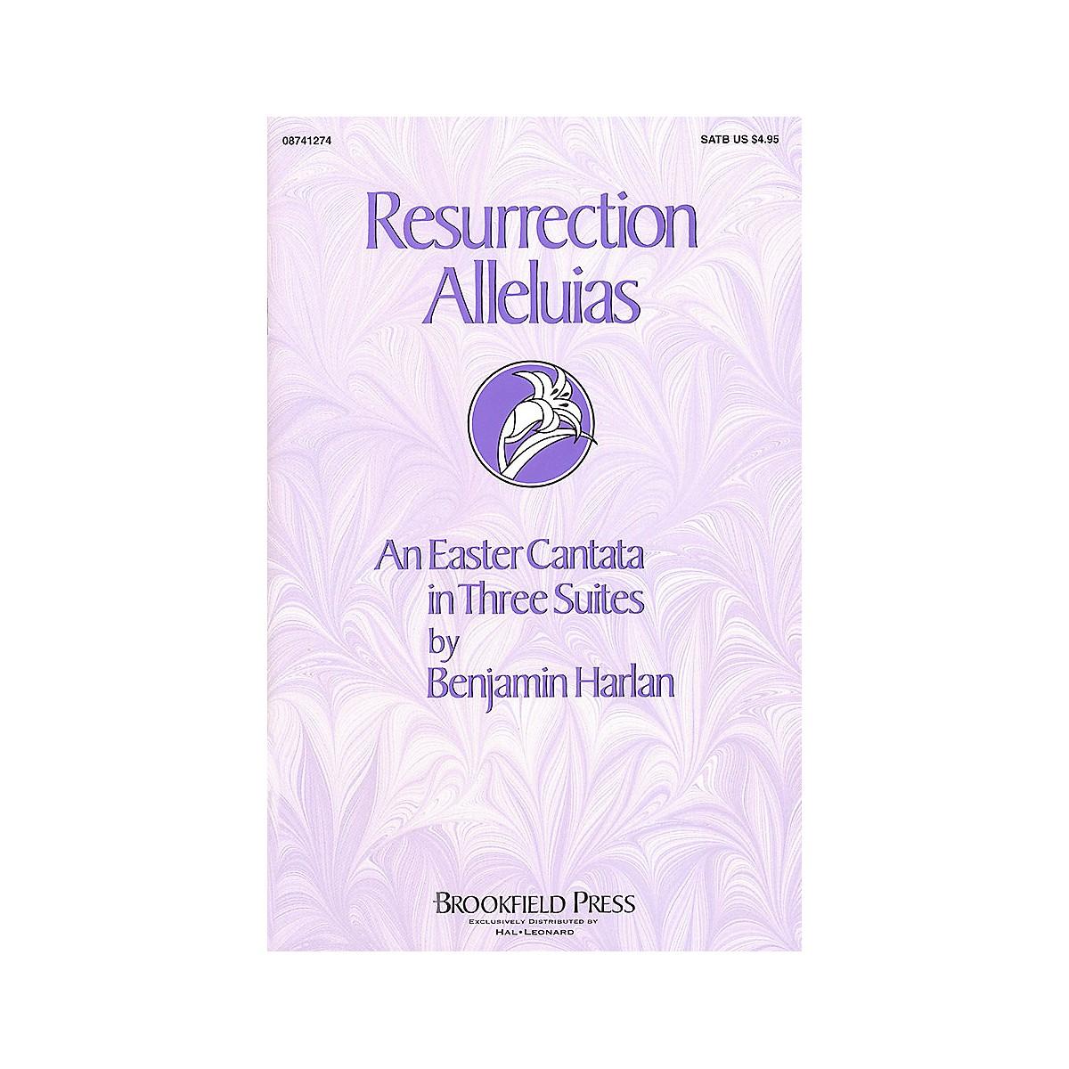 Brookfield Resurrection Alleluias (Cantata) SATB composed by Benjamin Harlan