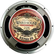 """Warehouse Guitar Speakers Retro 30 12"""" 75W British Invasion Guitar Speaker"""