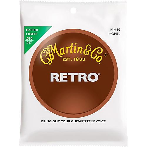 Martin Retro Acoustic Guitar Strings Extra Light Gauge