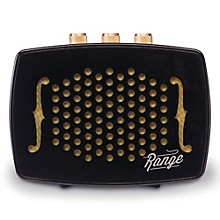 Retro-Design Bluetooth Speaker with 40 Ft.  Range, 8 Hr. Playtime and Rechargeable Battery Ebony