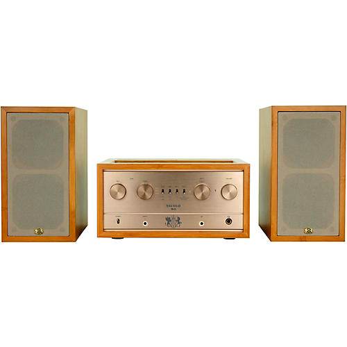 iFi Audio Retro Stereo 50 Tube Amplifier and Retro LS3.5 Speakers Complete Audio System