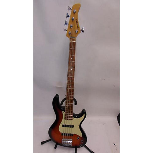 used fernandes retrospect 5 string electric bass guitar 2 tone sunburst guitar center. Black Bedroom Furniture Sets. Home Design Ideas