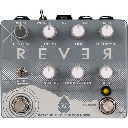 Old Blood Noise Endeavors Rever Reverse Delay / Reverb Effects Pedal