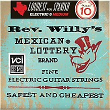 Dunlop Reverend Willy's Electric Guitar String Set - Medium