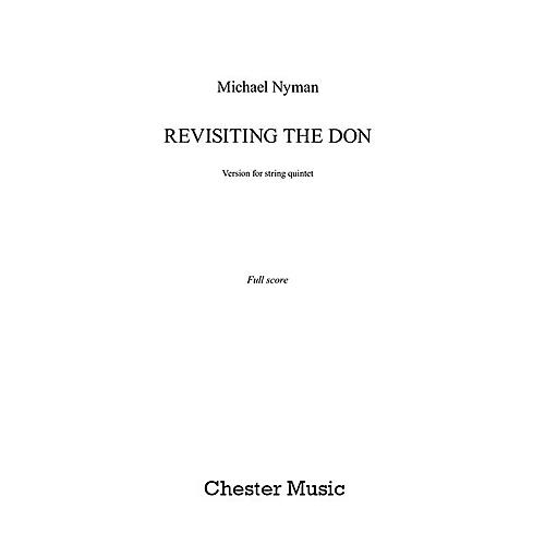 Chester Music Revisiting the Don (String Quintet - Score) Music Sales America Series Softcover by Michael Nyman