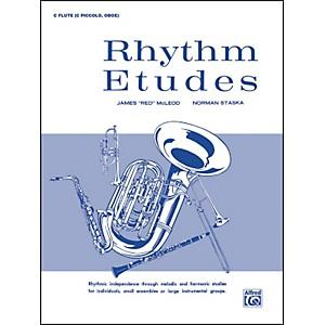 Alfred Rhythm Etudes C Flute C Piccolo Oboe by Alfred