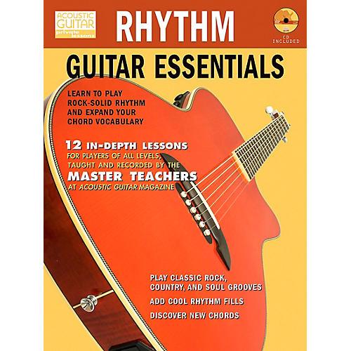 Hal Leonard Rhythm Guitar Essentials (Book/CD)