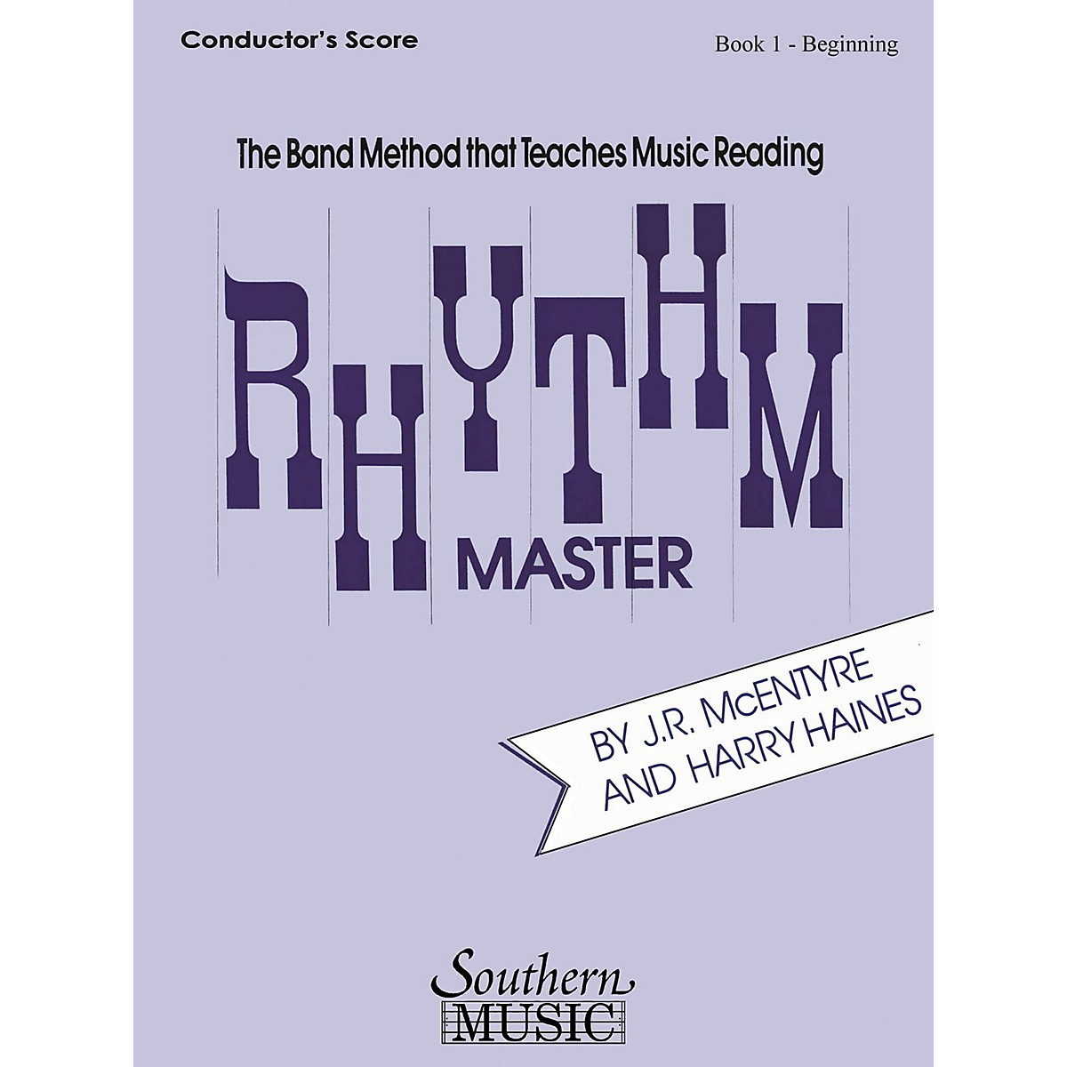Southern Rhythm Master - Book 1 (Beginner) (Oboe) Southern Music Series by Harry Haines