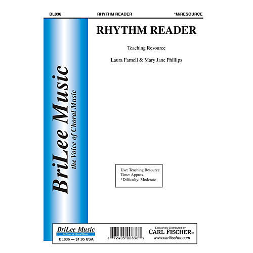 Carl Fischer Rhythm Reader