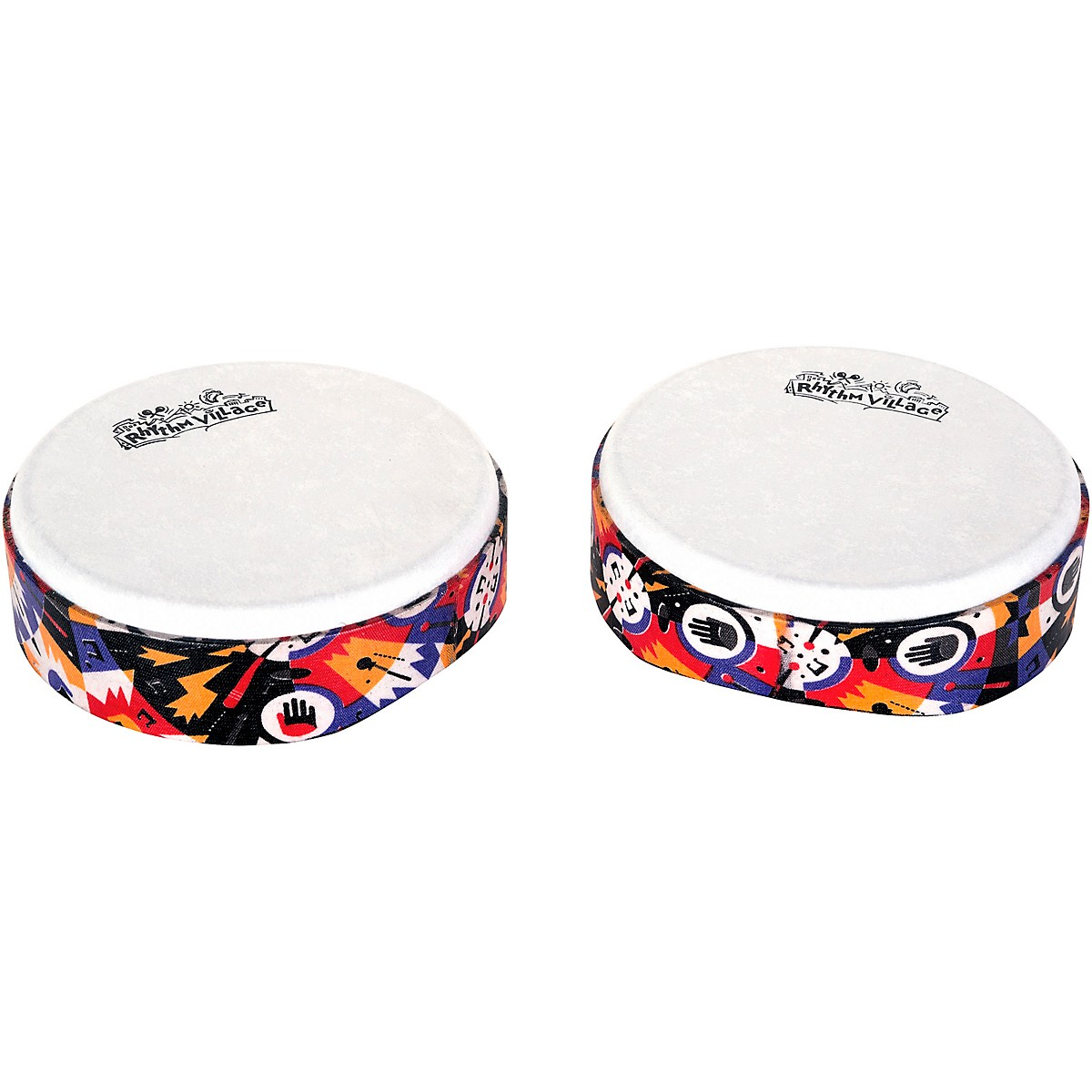 Rhythm Tech Rhythm Village Benkadi Club Series 6 in. Hand Drum