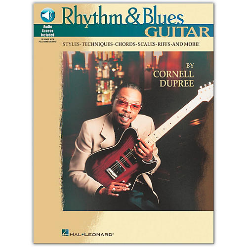 Hal Leonard Rhythm and Blues Guitar (Book/Online Audio)