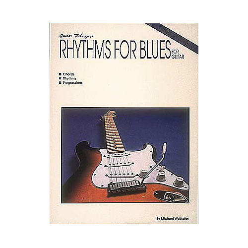 Hal Leonard Rhythms For Blues For Guitar Book