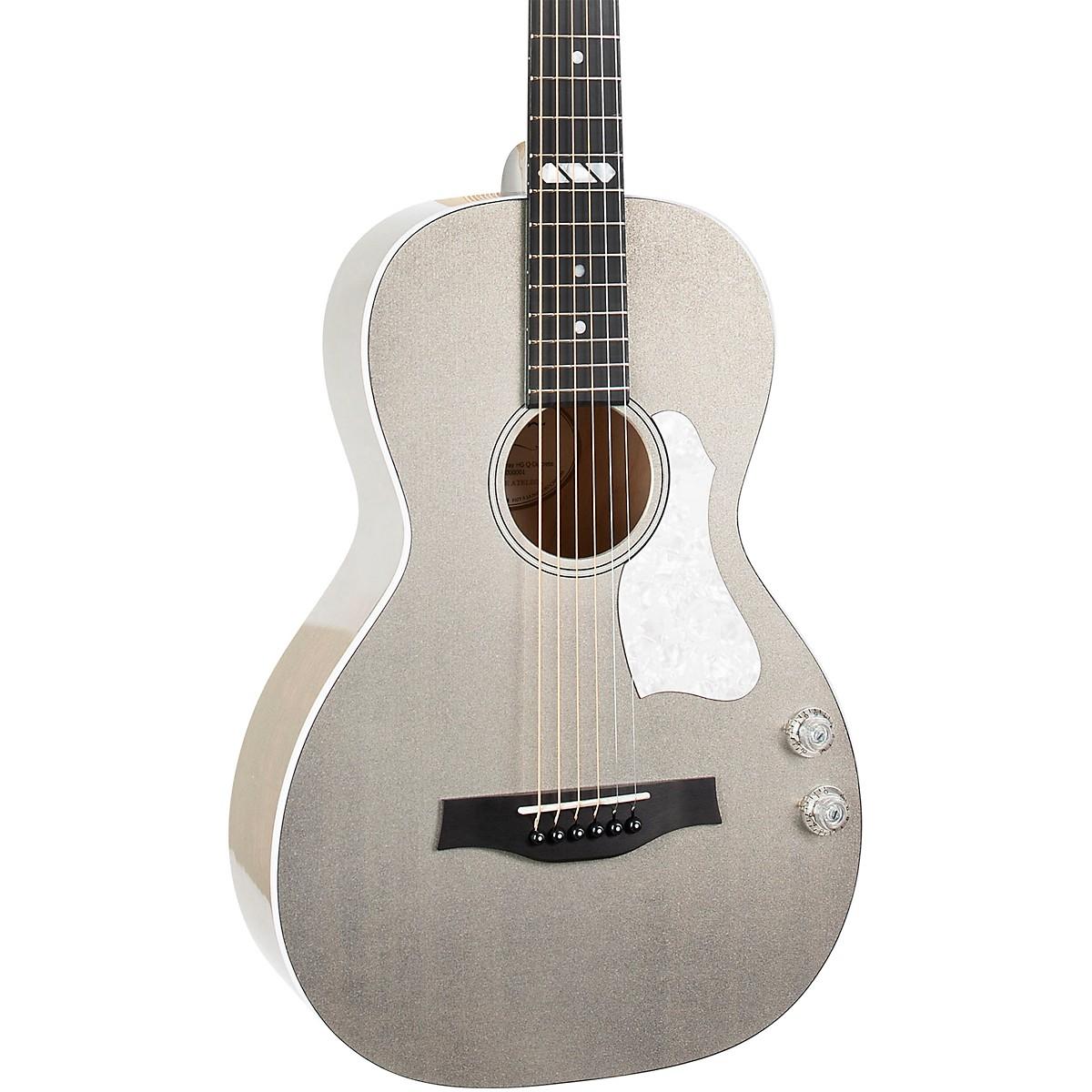 Godin Rialto JR Satina Gray HG Q-Discrete Acoustic-Electric Guitar
